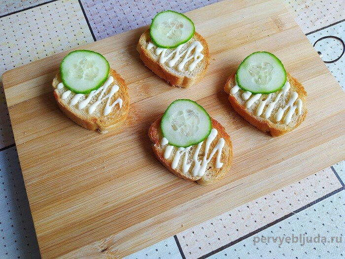 собираем бутерброды