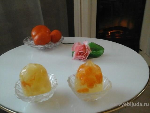 желейный алкогольный десерт