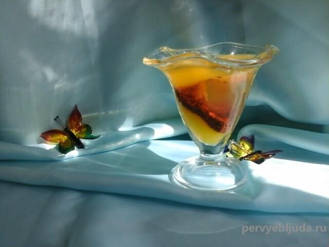 шот с алкоголем