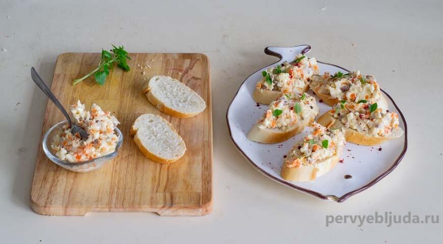 Селедочная паста (масло)— вкусная праздничная закуска!