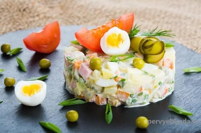 новогодний салат оливье