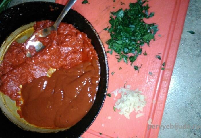 красный соус для шаурмы