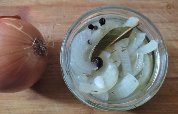 маринованный лук быстрого приготовления