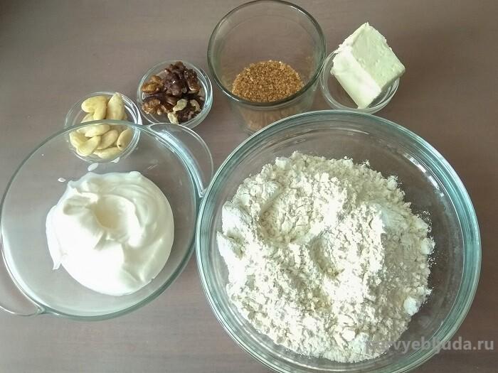 ингоедиенты для приготовления печенья
