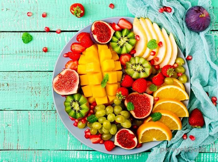 фруктовая тарелка для фуршета