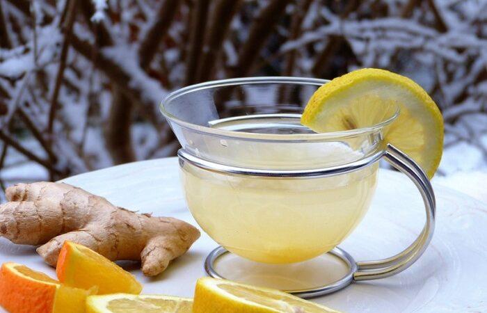 час с имбирем и лимоном