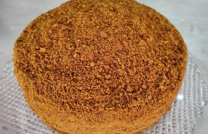 торт Медовик без раскатки