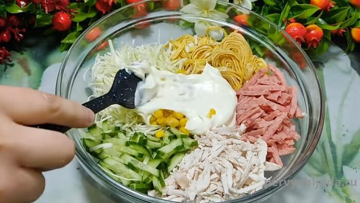 собираем салат