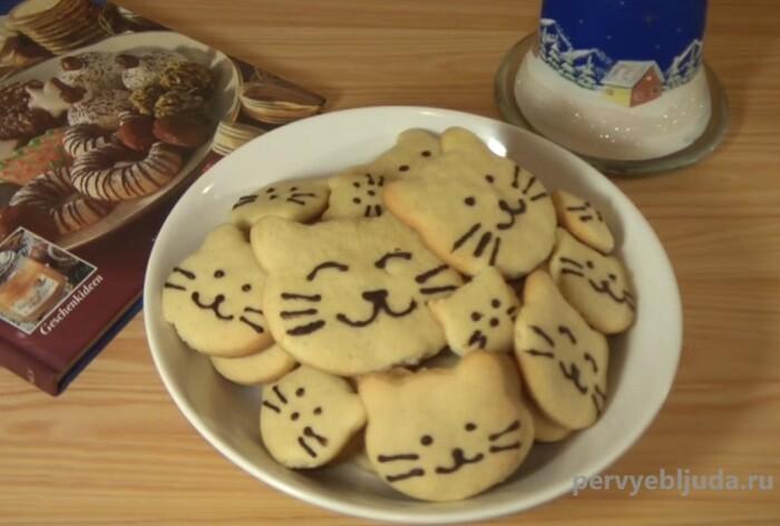 новогоднее печенье тигрята