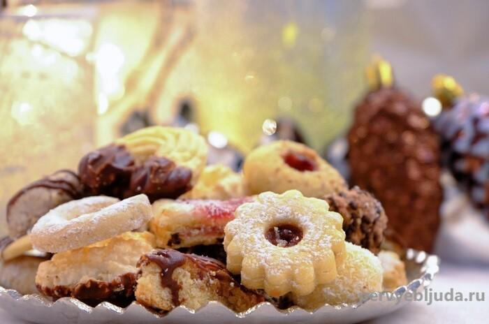 Топ 3 рецепта новогоднего печенья своими руками: Бонус— идеи, оформление, фото !