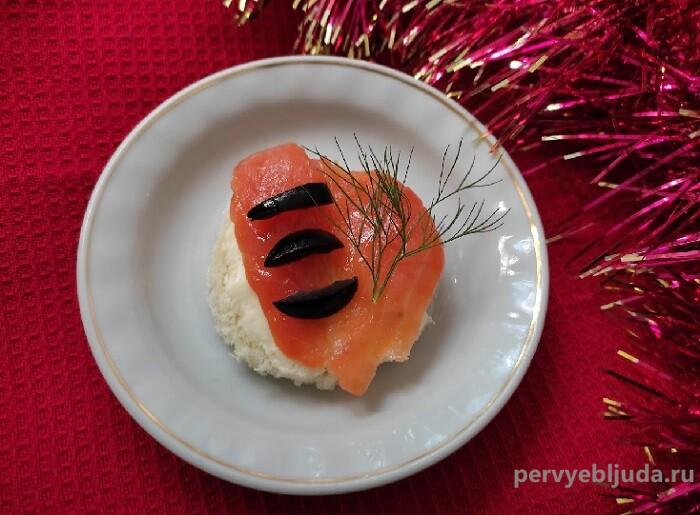 закуска тигренок из лосося